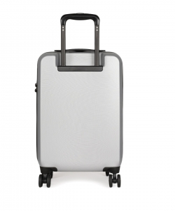 CAT Matte Shell ABS 55 CM Starlight Silver Hardside lightweight Cabin Suitcase/trolley (Cat-D 83549-362)