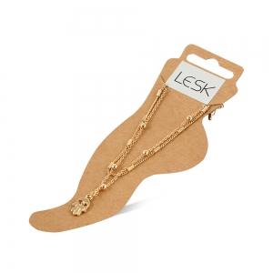 Lesk Anklet for Women with embellishments