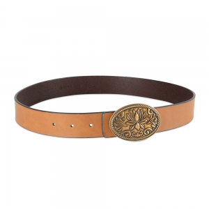 Rohit Bal Genuine Leather belt for Men (85 Cms.)