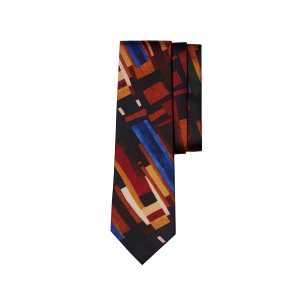 Modern Abstract Silk Tie