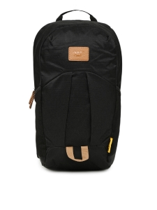 CAT Unisex Pebble Urban Active 13 Ltrs Black Casual Solid Backpack