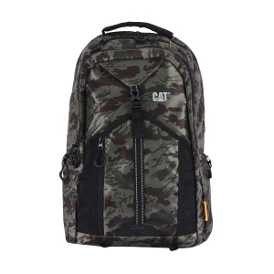 CAT Unisex Rainier 20 Ltrs 6 Compartment Camo Olive/Chocolate Solid 15.6 Laptop Backpack (83364-398)