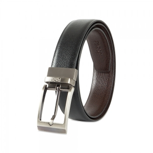Genuine Leather Reversible Belt for Men- 86.36cm