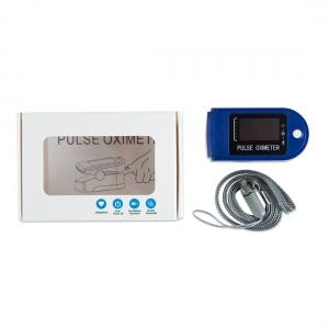 Finger Pulse Oximeter Blue