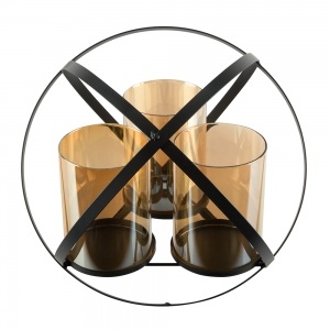 SG Candle Stick with Stand Home Décor Set of 3