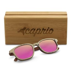 Caprio Unisex Newspaper Print Sunglasses