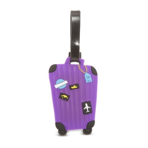 SG Suitcase Luggage Tag