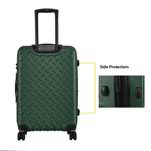 CAT Industrial Plate ABS 65 CM Moss Green Hardside Anti scratch Check In Suitcase/trolley (83685-205)