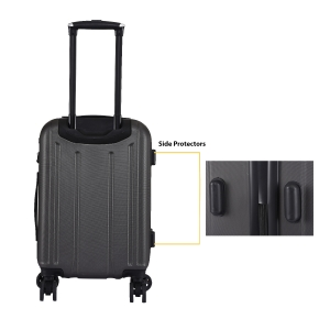 CAT Orion ABS 54.5 CM Grey Hardside lightweight Cabin Suitcase/trolley (83654-99)