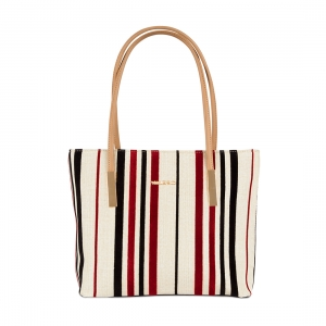 Vajero Stripe Design Shoulder Bag for Women