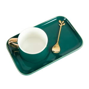 SG Cremic Coffee Cup with Saucer