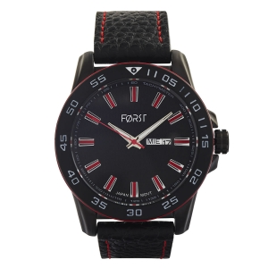 Forst Leather Strap Watch for Men