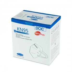 Face Mask KN-95 Without Valve Box Of 20 Pieces