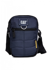 CAT Millenial Classic Polyester 15 cms Navy Blue Messenger Bag (83437-157)