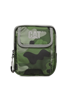 CAT Unisex Pollux Mini Sholulder 2 CM Woodland Camo Casual Solid Messenger Bag