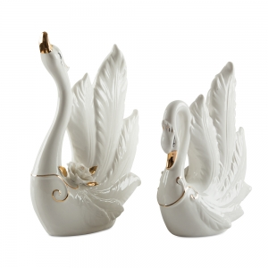 SG Swan Pair Show-Piece Home Décor