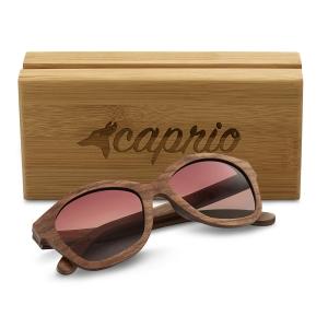 Caprio Wooden Mirrored Sunglasses for Women