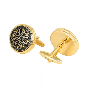 Forst Carved Antique Cufflinks