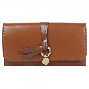 Vajero Leather Clutch Wallet with Straps for Women
