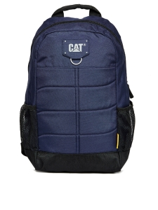 CAT Unisex Benji Millenial Classic 18 Ltrs Blue Casual Solid Backpack