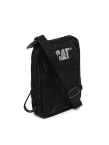 CAT Unisex Pollux Mini Sholulder 2 CM Black Casual Solid Messenger Bag