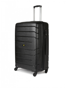 CAT Crosscheck Polypropylene 67.5 CM Black Hardside lightweight Check In Suitcase/trolley (83547-01)
