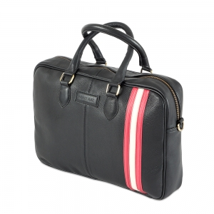 Rohit Bal Leather Laptop Bag
