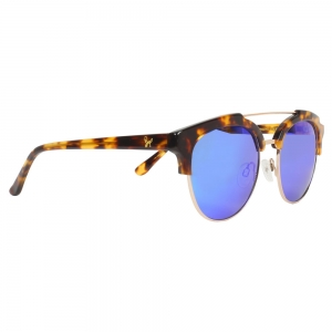 Rohit Bal Unisex Patterned Clubmaster Sunglasses