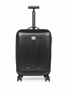 CAT Access ABS 56 CM Black Hardside lightweight Cabin Suitcase/trolley (83535-01)