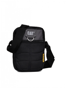 CAT Unisex Rodney 1.5 Ltrs 4 Compartment Black/Anthracite Solid Casual Messenger Bag (83437-172)
