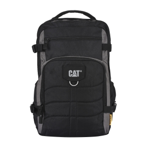CAT Unisex Patrick 22 Ltrs 4 Compartment Black/Anthracite Solid 15.6 Laptop Backpack (83605-172)