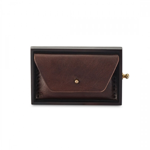 Rohit Bal Leather Envelope Card Wallet