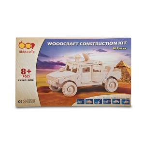 Spice Innocente Fierce Horse Jeep Wooden Construction Kit
