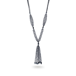 Lesk Multistrand Bead Necklace
