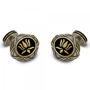 Rohit Bal Lotus Cufflinks