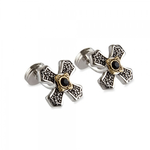 Rohit Bal Cross Shape Cufflinks