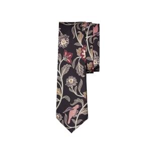 Flora & Fauna Silk Tie