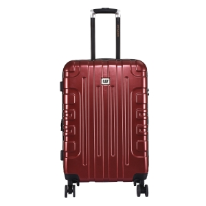 CAT Cityscape ABS 63.5 CM Wine Red Hardside lightweight Check In Suitcase/trolley (83661-134)