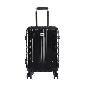 CAT Cityscape ABS 54.6 CM Black Hardside lightweight Cabin Suitcase/trolley (83662-01)