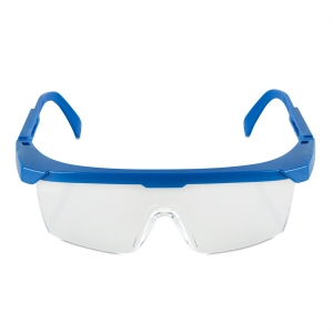 Bio-safety Goggles Hard Blue Frame