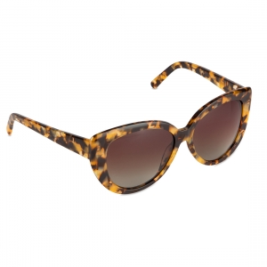 Rohit Bal Brown Graduated Cat-Eye Sunglasses