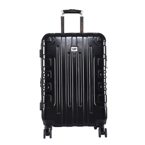 CAT Cityscape ABS 63.5 CM Black Hardside lightweight Check In Suitcase/trolley (83661-01)