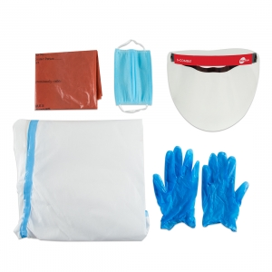 PPE Kit - ( Coverall+Face Shield+Gloves+Face Mask)