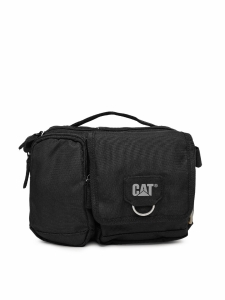 CAT Unisex Ramsey MillennialClassic 3 Ltrs Black Casual Solid Messenger Bag