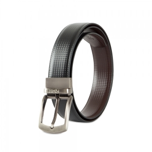 Genuine Leather Reversible Belt for Men-86.36cm