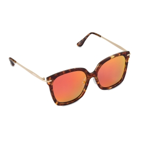 Caprio Unisex Mirrored Sunglasses