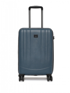 CAT Unisex Blue Turbo Spinner Extremely lightweight Check In Medium Softside Trolley Suitcase 24 Inches 60.96 CM