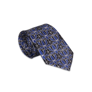 Signature Lotus Silk Tie