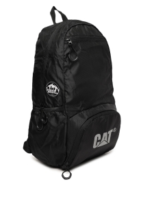 CAT Unisex Plata Urban Mountaineer 21 Ltrs Black Casual Solid Backpack