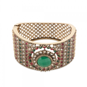 Lesk Victorian Style Handcuff Bracelet for Women